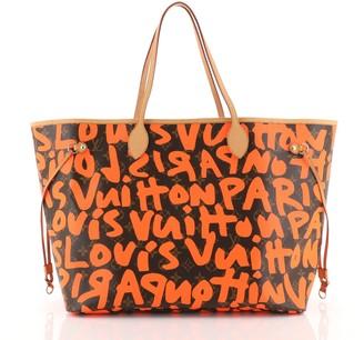 Louis Vuitton Neverfull Tote Limited Edition Monogram Graffiti GM