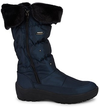 Pajar Varsovie Faux Fur Quilted Snow Boots