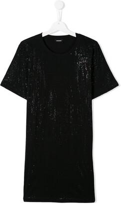 Diesel TEEN embellished dress
