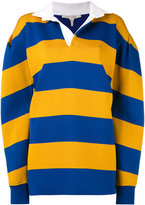 Marc Jacobs striped jersey - women - Cotton/Wool/Tencel/Nylon - S