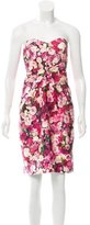 Kate Spade Strapless Floral Print Dress w/ Tags