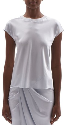Helmut Lang Silk Satin T-Shirt