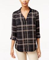 Charter Club Petite Plaid Shirt, Only at Macy's