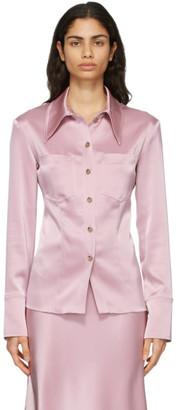 Nanushka Pink Tippi Shirt