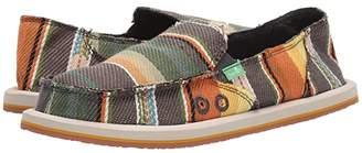 Sanuk Donna Blanket (Charcoal Multi Blanket) Women's Slip on Shoes