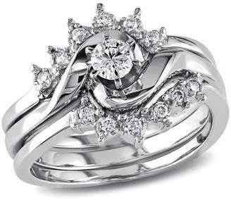 Concerto 0.25CT Diamond 14K White Gold 3-Piece Bridal Set