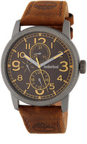 Timberland Men&s Erving Multifunction Leather Watch