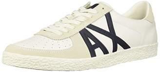 Armani Exchange A X Men's Large Logo Low Top Sneaker