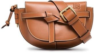 Loewe Brown Gate leather belt bag