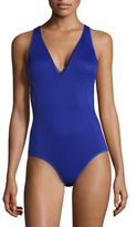 Stella McCartney One-Piece Mesh-Detail Swimsuit
