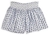 Ralph Lauren Girls 2-6x Toddlers, Little Girls and Girls Paisley-Print Shorts