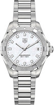 Tag Heuer WAY1313.BA0915 Aquaracer Lady diamond and stainless steel watch