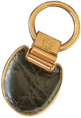 Loewe Black Metal Bag charms