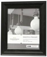 "Threshold 8""x10"" Black Wood Grain Frame"