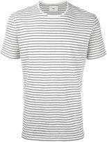 Folk striped melange T-shirt - men - Cotton - 2