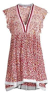 Poupette St Barth Women's Sasha V-Neck Dress