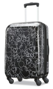 """American Tourister Disney by Mickey Mouse Scribbler 20"""" Carry On Spinner"""