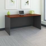 """Series C Office Desk Bush Business Furniture Size: 30"""" H x 48"""" W x 30"""" D, Color: Hansen Cherry"""