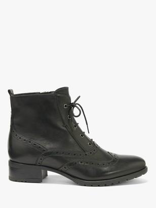 John Lewis & Partners Cambridge Lace-Up Ankle Boots