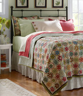 L.L. Bean Blooming Circles Quilt