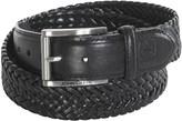 John Deere Woven Leather Stretch Belt (For Men)