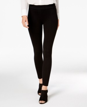 Style&Co. Style & Co Petite Seamed Ponte-Knit Skinny Pants, Created for Macy's