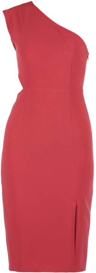 Alice + Olivia Plain Color Dress