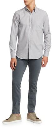 Loro Piana Francis Cotton Herringbone Button-Down Shirt