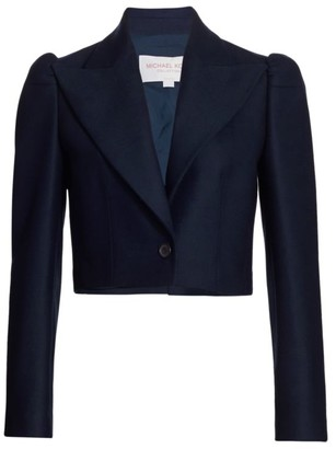 Michael Kors Spencer Cropped Jacket