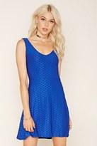 Forever 21 FOREVER 21+ Textured Knit Skater Dress