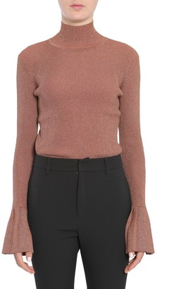 Carven Flared Sleeve Turtleneck Jumper