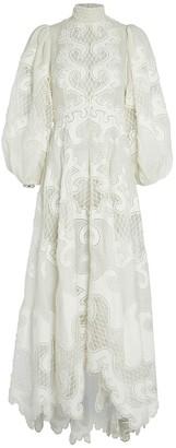 Zimmermann Brightside Embroidered Maxi Dress