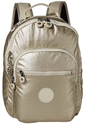 Kipling Seoul S Backpack (Cloud Metal) Handbags