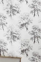 Anthropologie Deciduous Forest Wallpaper