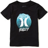 Hurley Big Boys 8-20 Dawn Of Surf Short-Sleeve Graphic Tee