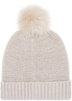 Accessorize ThinsulateTM Metallic Pom Beanie Hat