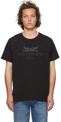 Levi's Levis Black Set-In Neck T-Shirt