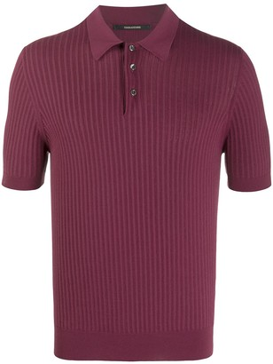 Tagliatore Ribbed Polo Shirt