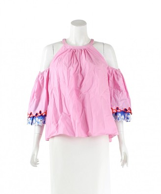 Peter Pilotto Pink Cotton Top for Women