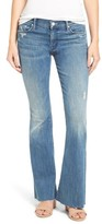 Mother Women's Raw Hem Flare Jeans