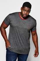 boohoo Big And Tall MAN Logo T-Shirt