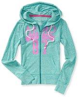 Aeropostale Womens Neon Aero Hoodie Sweatshirt S