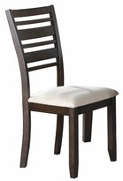Mila Louise Upholstered Dining Chair (Set of 2) Latitude Run
