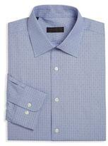Ike Behar Geometric Dress Shirt
