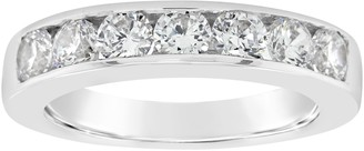 Affinity Diamond Jewelry Affinity 14K Gold Channel Set 9/10 cttw Diamond Ring