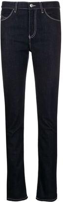Emporio Armani Contrast-Stitch Skinny Jeans