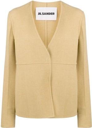 Jil Sander Vigin Wool Linear Jacket