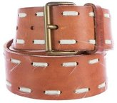 Miu Miu Leather Buckle Belt
