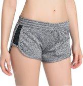 Campeak Women's Sexy Running Yoga Fitness Shorts ( M)