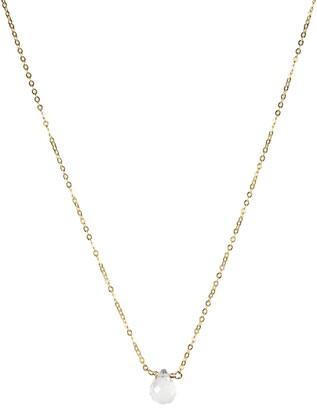Nashelle April Synthetic Birthstone Choker Necklace